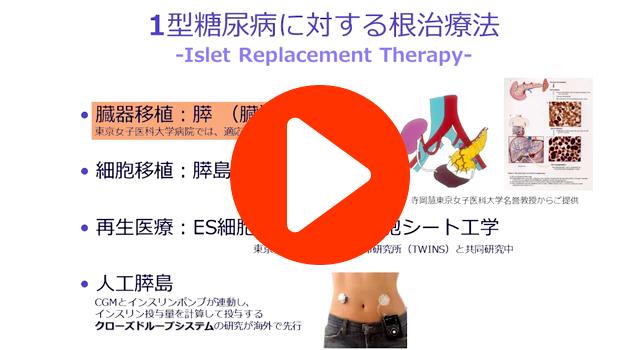 1型糖尿病に対する根治療法と創傷治癒モデル